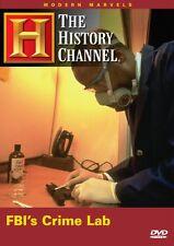 FBI's CRIME LAB ~Modern Marvels~History Channel NEW DVD