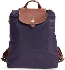Longchamp Le Pliage Nylon Foldable Backpack **Bilberry** ~NIP~