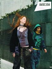 Publicité advertising 2004 Pret à porter vetements Diesel