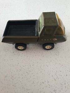 Vintage Tonka Army Pick Up Truck 1970s