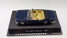 VOITURE STARLINE MODELS FIAT 2300 S CABRIOLET 1962 1:43 NEUF BOITE
