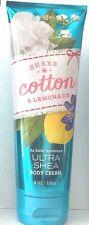 Bath & Body Works Sheer Cotton & Lemonade Body Cream