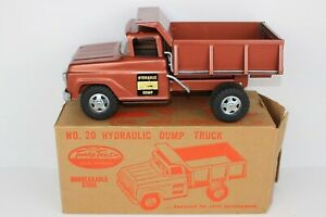1959 #20 Tonka Hydraulic Dump Truck NMIB Nice Box! Construction & Farm Toys