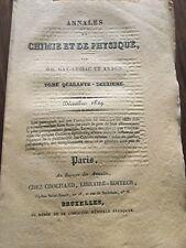 Météorite aux USA en 1829 Deal Trèves Pérou Chili Volcan Météo Chimie Arago