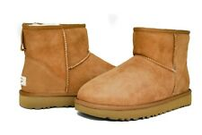 UGG Women's Classic Mini II 1016222 in Black Chestnut Sz 5-12 NEW