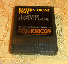 Eastern Front 1941 cartridge Atari 400/800/XL/XE computer COMES GUARANTEED GAME