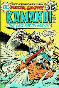Kamandi #25 (Jan 1975, DC) - Very Good