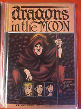 Dragons in the Moon - Aircel Publications - 1990 - Complete Set - Issues #1 - #4
