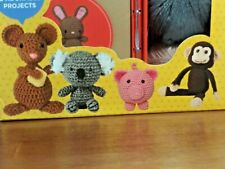 Teeny Tiny Animal Crochet Kit Includes Everything / 2 Adorable Craft Projects