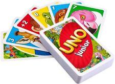 UNO Junior Kinder Kartenspiel ab 3 Jahre 2 Spielstufen Kartenspiel OVP NEU