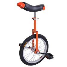 "16"" Wheel Unicycle Skidproof Mountain Tire Butyl Cycling Sports Exercise Orange"