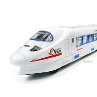 WolVol Bump & Go Action Electric Train Toy with Lights and Music