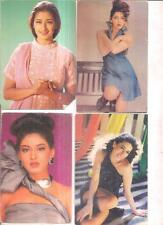 INDIA RARE - PICTURE POSTCARD FILM ACTRESSES - 10 IN 1 LOT