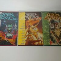 Open Space 1, 3, & 4 - Lot Of 3 Comic Books Trade Paper Backs 1990 Marvel