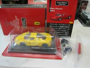 Kyosho - Ferrari Collection - Enzo Ferrari - Yellow - Scale 1/64  Mini Car - C00