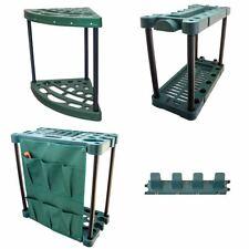 More details for garden tool trolley rack organiser gardening storage holder unit caddy for shed