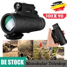 90X100 HD Monokular Teleskop Telefon Kamera Zoom Starscope Wandern + Jagdstativ