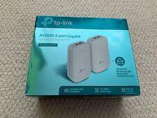 TP-Link TL-PA9020KIT AV2000 2-Port Gigabit Powerline Starter Kit