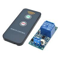 Perfeclan 5V/12V/24V 1-CH Infrared Remote Control Relay Module IR Switch