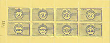 1971 STRIKE MAIL OSBORNE BELMONT VIA BOLOGNE 25p & 50p FULL SHEET MNH