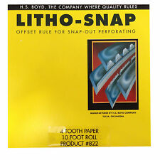 HS BOYDLitho-Snap 10-foot roll #822 Bindery Supplies Litho Snap