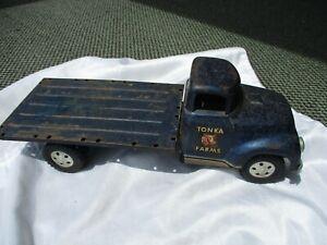 Vintage 1957 Tonka Farms Rack Truck