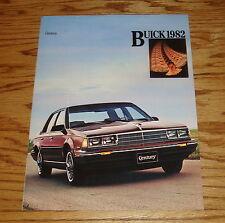 Original 1982 Buick Century Sales Brochure 82