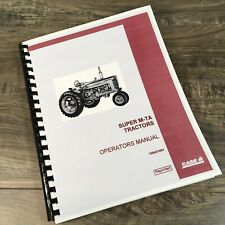 Farmall International Super M-Ta Tractor Operators Manual Owner Book Maintenance