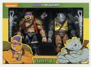 """NECA TMNT Teenage Mutant Ninja Turtles Bebop Rocksteady 7"""" Action Figures"""