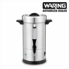 Waring Commercial Wcu30 30 Cup Coffee Urn Ss 120v 1 Year Warranty