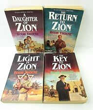 Lot of 4 Zion Chronicles (#'s 2-5) by Bodie Thoene Paperbacks  B3