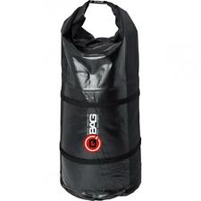 Bolsa trasera impermeable para motos enduro y motos trail color negro 40 litros