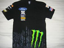 ***HOT ITEM** NWOT DC SHOES KEN BLOCK MEN MONSTER SUBARU FORD T SHIRT SMALL