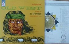 ED McCURDY -SONGS OF..OLD WEST - ELEKTRA LP (E.DARLING)