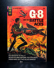 COMICS: Gold Key: G-8 and his Battle Aces #1 (1966) - RARE (star trek/solar)