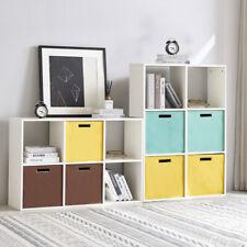 Raumteiler Bücherregal Standregal Aktenregal Raumtrenner Regal  6 Fächer Weiß