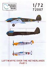 Flevo Aviation Decals 1/72 THE LUFTWAFFE OVER THE NETHERLANDS Part 1