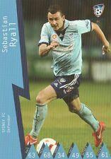 SEBASTIAN RYALL SYDNEY FC A-LEAGUE 2014/2015 TAPNPLAY SOCCER CARD
