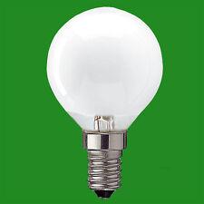 10x 25W Golf Ball Pearl Dimmable SES E14 Edison Screw Standard Light Bulb Lamp