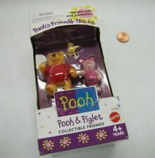 New!  POOH'S FRIENDLY PLACES POOH & PIGLET & CHICK 1998 COLLECTIBLE FRIENDS NIB