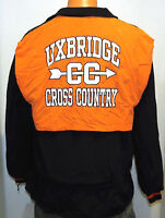 vtg UXBRIDGE CROSS COUNTRY 2002 Team Jacket MED High School Running Spartans M
