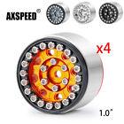 "AXSPEED For RC 1:24 Axial SCX24 Medel Car 1.0"" CNC Aluminum Beadlock Wheel Rims"