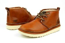 UGG For Men Boots Neumel Pinnacle Horween Leather / Wool Tan Color US Size 11