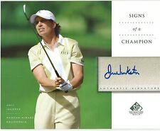 JULI INKSTER Autograph / Signed 8 x 10 LPGA Photo 2004 SP Signature Golf UD COA