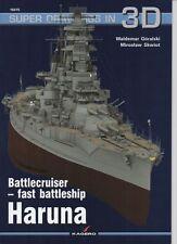 *Japanese Battlecruiser - fast battleship Haruna - Super Drawings in 3D - Kagero