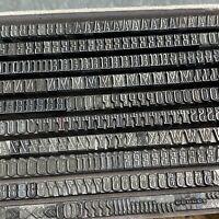 12p FORUM I - Bleisatz Buchdruck Bleilettern Druckerei Letterpress Type 4,5 mm