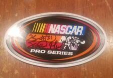 Kaz Grala William Byron Scott Heckert  Autographed NASCAR K&N Sticker