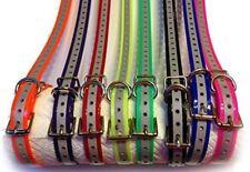 "Sparky PetCo 3/4"" Roller Buckle High Flex Reflective Green Dog Strap For Garmin"
