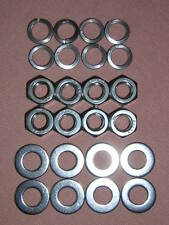 Kawasaki GPz1100/GPz 1100 B1/B2 Exhaust Nuts and Washers Set - Stainless Steel