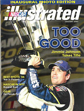 Nascar Illustrated January 2007 Jimmie Johnson Takes The Title Best Shots '06